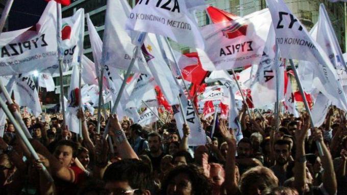 Προεκλογική συγκέντρωση ΣΥΡΙΖΑ Ιούνης 2012