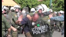 Η Αθήνα στους δρόμους της κρίσης