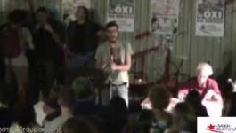 Λαϊκή Ενότητα-Φεστιβάλ Νέων: Χρήστος Σταυρακάκης
