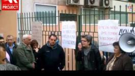 Η Μ. Μπόλαρη στη συγκέντρωση για το Πατησίων (26-3-2013)
