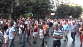 Ολόκληρη η πορεία διαμαρτυρίας στην ΔΕΘ 2012