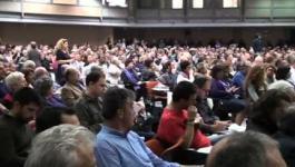 Π.Σ. ΛΑΕ: Αποσπάσματα από την ομιλία του Γ. Σαπουνά