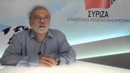 Σωτήρης Μάρταλης, υποψήφιος ευρωβουλευτής ΣΥΡΙΖΑ