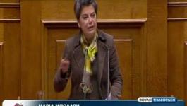 Μαρία Μπόλαρη: Ολομέλεια Βουλής 02/04/2013